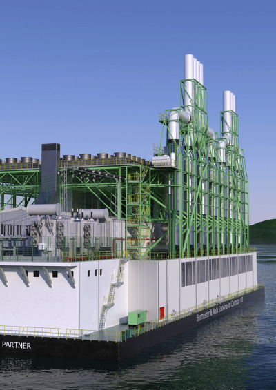 The Power Barge Corporation